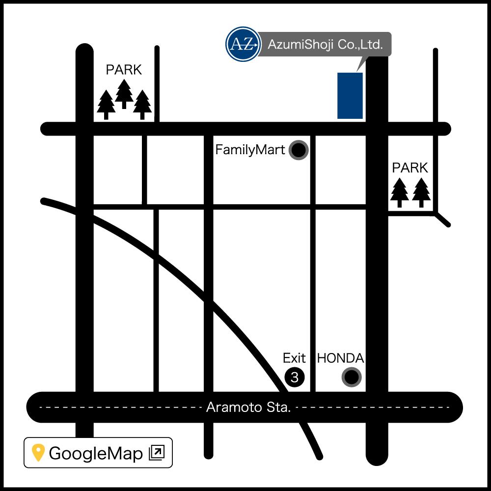 地図 : ロジスティクスセンター